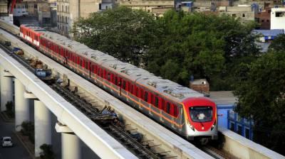 اورنج لائن ٹرین چلانے کی ایک اور تاریخ آ گئی