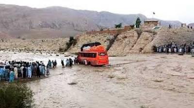 بلوچستان، بارشوں کے باعث ندی نالوں میں طغیانی, 6 افراد جاں بحق
