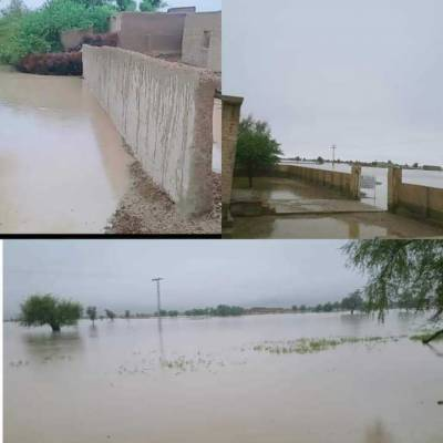 شدید بارشوں کے بعد نائی گج ڈیم کو شدید نقصان، شگاف پڑ گیا