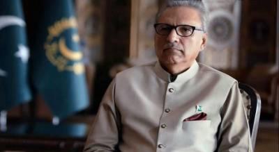 وبا کے دوران پاکستانی قوم نے ایک منظم قوم ہونے کا ثبوت دیا، صدر پاکستان