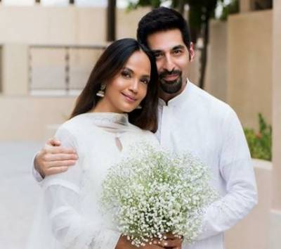 آمنہ شیخ نے دوسری شادی کر لی