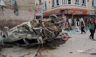 پاک ایران سرحدی شہر چمن کے مال روڈ پر دھماکہ '5افراد جاں بحق '12افراد زخمی