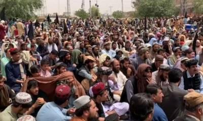 چمن دھماکہ، ملزمان کی عدم گرفتاری کیخلاف تاجروں کا احتجاج