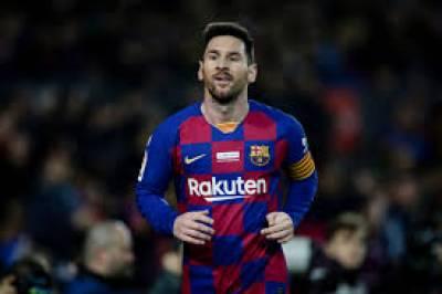 میسی کا فٹبال کلب بارسلونا چھوڑنے کا فیصلہ