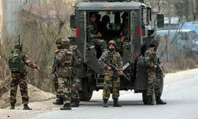 مقبوضہ کشمیر میں بھارتی فوج کی جارحیت، 4 کشمیری شہید