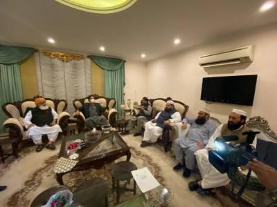 بلاول کی مولانا فضل الرحمان سے ملاقات، اے پی سی پر تبادلہ خیال