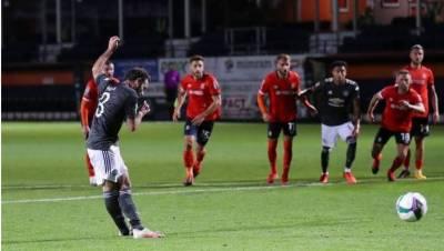 چیمپئنز فٹبال لیگ کپ،مانچسٹر یونائیٹڈ نے چوتھے مرحلہ میں جگہ بنالی