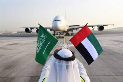 دبئی اور سعودی عر ب کے درمیان پروازوں کا سلسلہ دوبارہ بحال