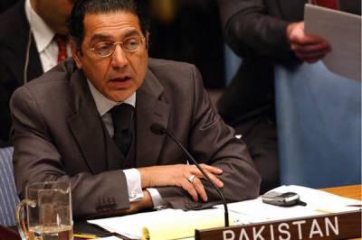 اقوام متحدہ میں پاکستانی مندوب کا بھارتی مندوب کو دو ٹوک جواب