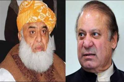 مولانا فضل الرحمان اور نواز شریف میں ٹیلیفونک رابطہ، استعفوں سے متعلق تبادلہ خیال
