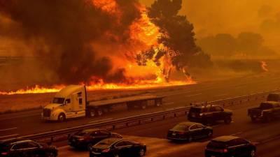 کیلی فورنیاکے جنگلات میں آتشزدگی، 26 افراد ہلاک متعدد زخمی