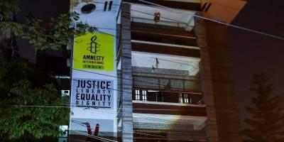 ایمنسٹی انٹرنیشنل نے بنک اکاؤنٹس منجمد ہونے کے بعد بھارت میں سرگرمیاں بند کردی