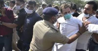 بھارتی اپوزیشن رہنماء راہول گاندھی گرفتار