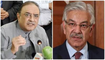 آصف علی زر داری بارے بیان پر خواجہ آصف نے معذرت کرلی