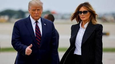 ٹرمپ، ان کی اہلیہ اور مشیر ہوپ ہکس کا کوروناٹیسٹ مثبت آگیا