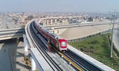 اورنج ٹرین چلانے کی منظوری دیدی گئی ،کرایہ انتہائی کم
