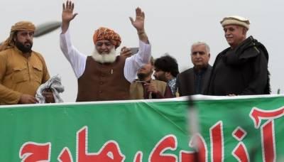 اس حکومت کولانے والوں سے غلطی تسلیم کروائیں گے :مولانا فضل الرحمن