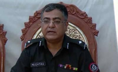 سندھ پولیس دباو کا شکار، آئی جی سندھ 15 روز کیلئے رخصت پر چلے گئے