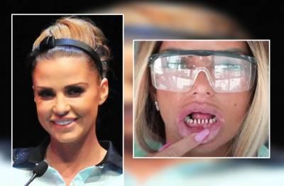 ہالی ووڈ سٹار کیٹی پرائس سار ے دانتوں سے محروم