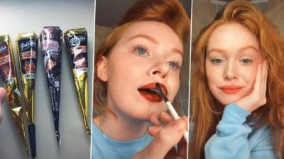 henna,lip stain,fashion,introduced,blogger