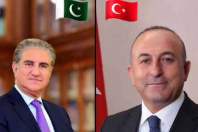 shah mehmood qureshi,offer,turkish foreign minister,telephone