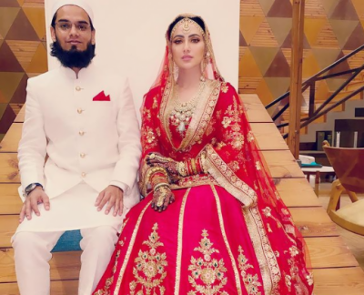 After marrying Mufti Anas, Sana Khan changed her name