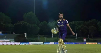 Afridi's magic works again, Lanka rooted for 50 off 20 balls in Premier League