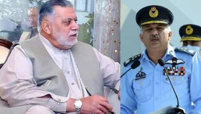 Chief of Air Staff expresses condolences on the death of Mir Zafarullah Khan Jamali
