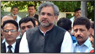 Can march against government: Shahid Khaqan Abbasi