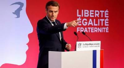 فرانسیسی صدر کے مسلم دشمنی پر مبنی اقدامات کا سلسلہ جاری