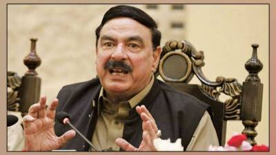 وزیر ریلوے شیخ رشید احمد ایک روزہ دورہ پر چمن پہنچ گئے
